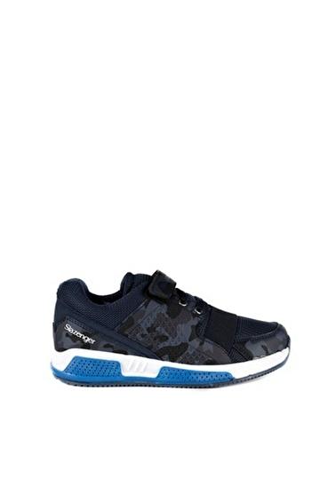 Slazenger Unisex Çocuk ELA Spor Ayakkabı SA10LF090-400X Lacivert